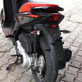 Eccentric Rear Mono Shock