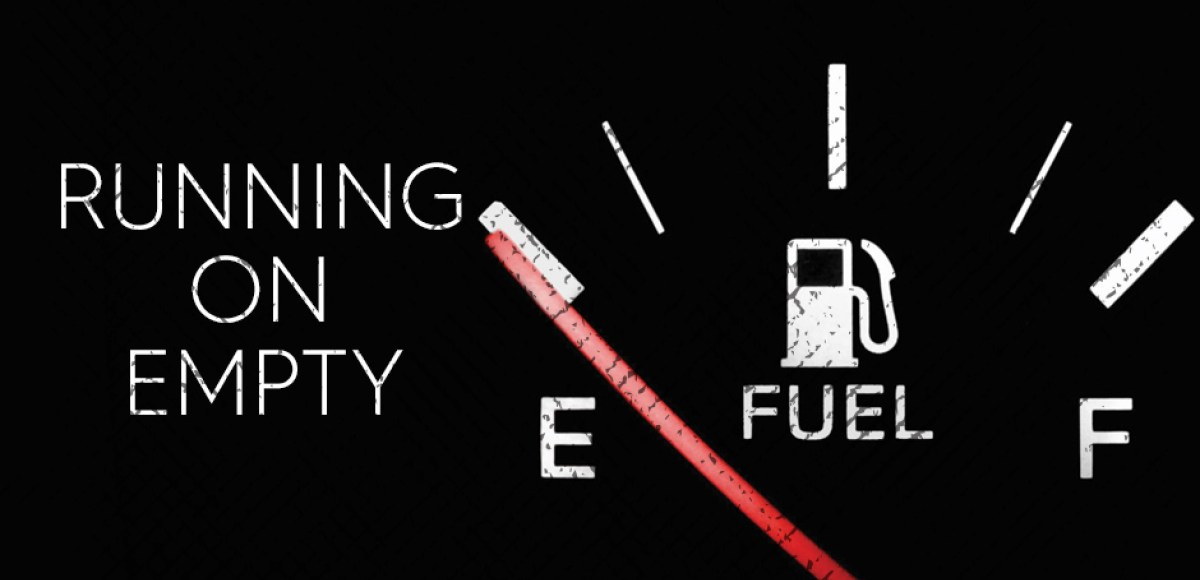 Image result for running on empty