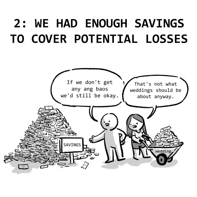 2: WE HAD ENOUGH SAVINGS TO COVER POTENTIAL LOSSES