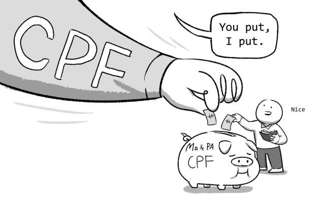 "Pls google ""CPF"" Matched Retirement Savings Scheme"""