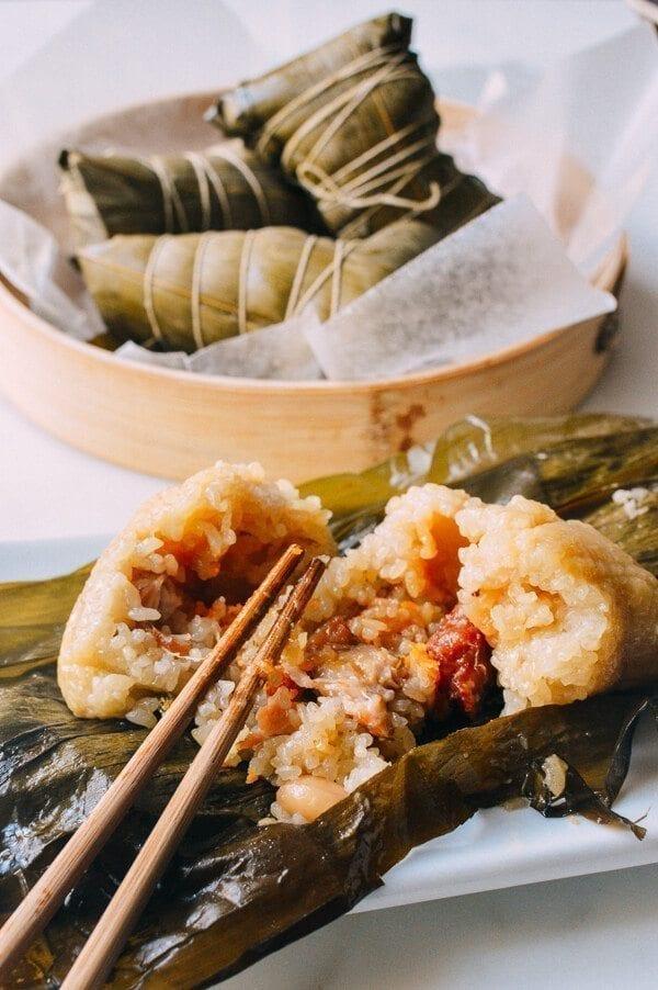 Cantonese pork zongzi