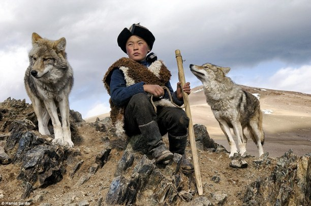 Photographer Hamid Sardar-Afkhami set out to record the lives of three tribes living in Mongolia - the Tsaatan reindeer people, Kazakh eagle hunters and Mongol horsemen.