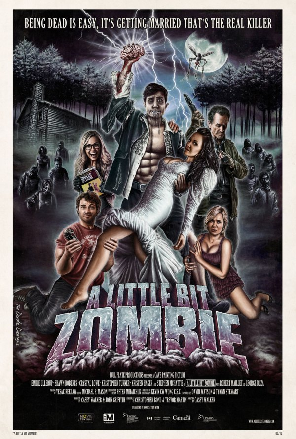 A Little Bit Zombie 2012 REVIEW The Wolfman Cometh