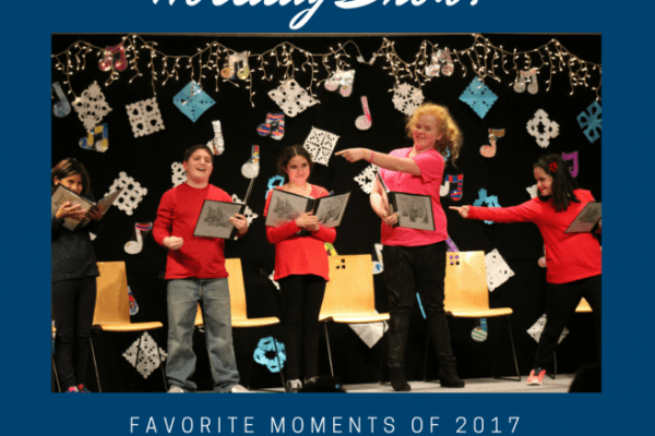 The best way to end 2017 was with our holiday show!