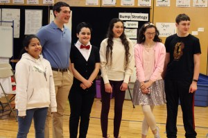 8th Grade students at the 2019 Founders' Day event