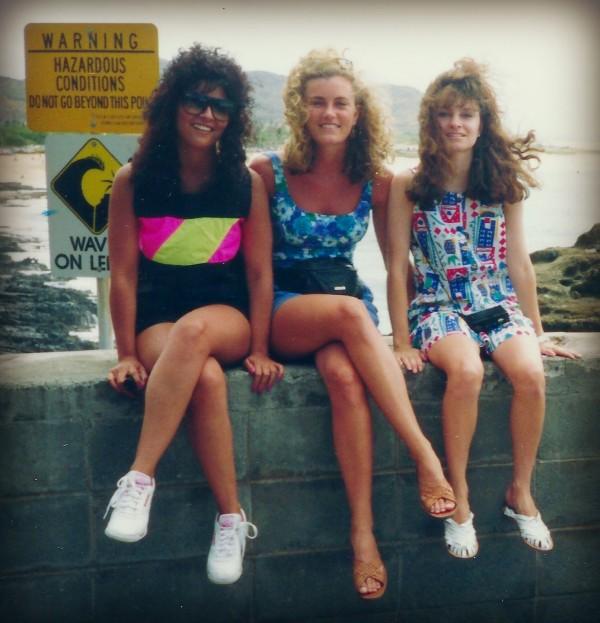 The Hubba Hubbas in Honolulu circa 1990