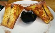 Brioche French toast with Nutella