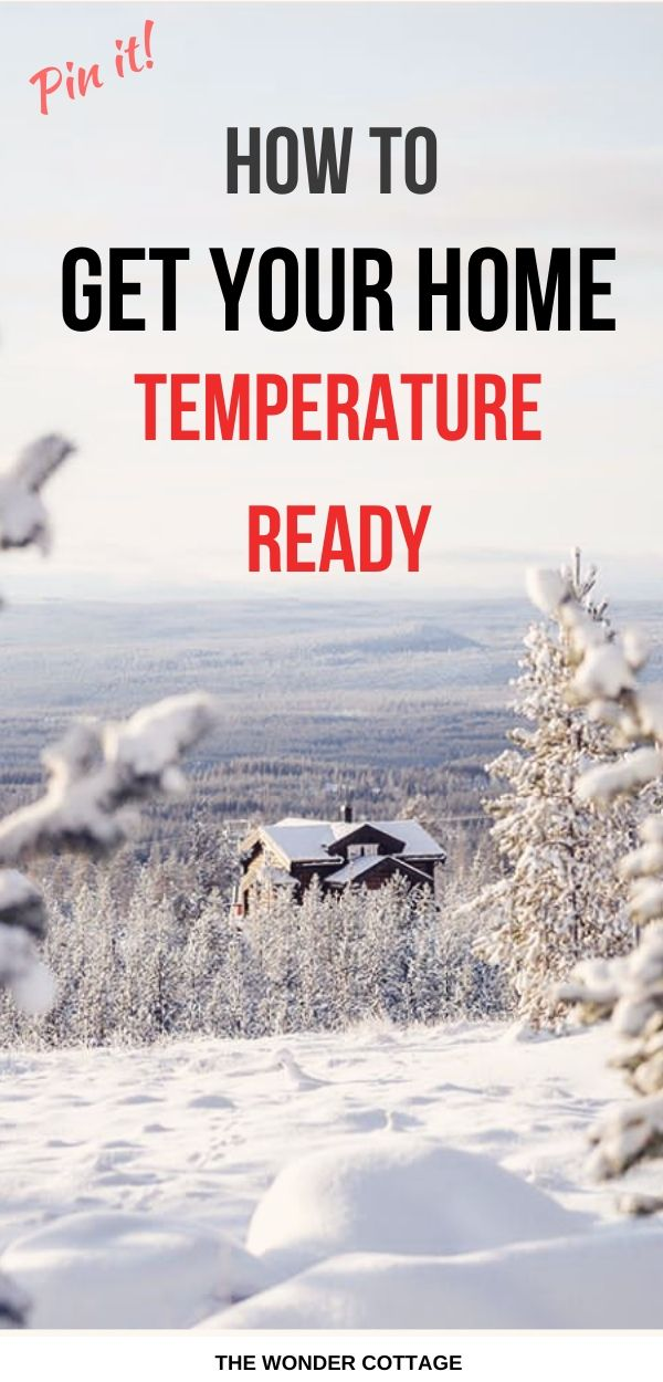 get your home temperature ready