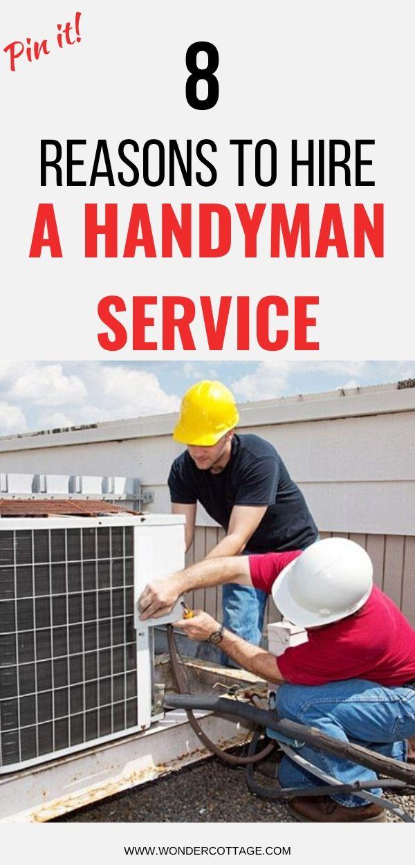 why hire a handyman