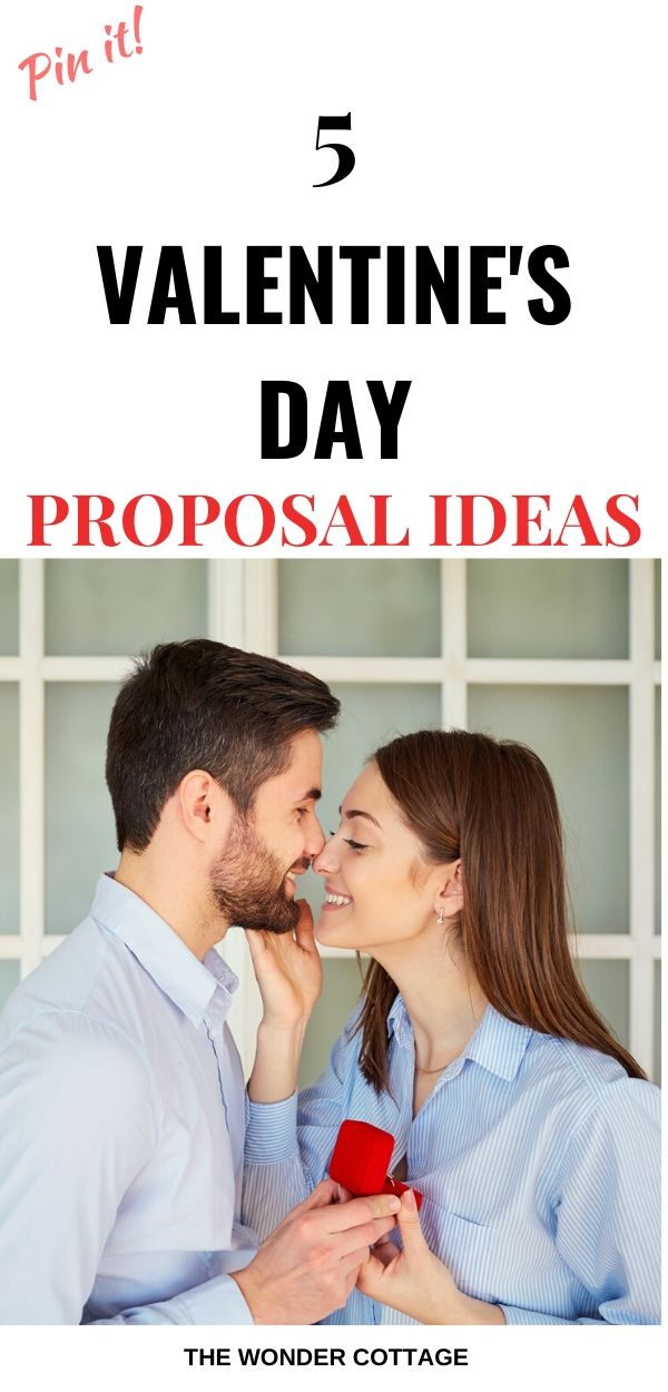 valentine's day proposal ideas