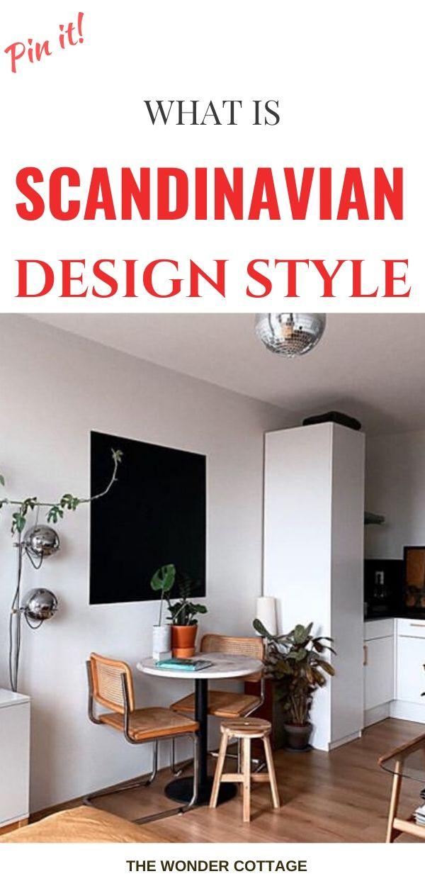 scandinavian design and furniture