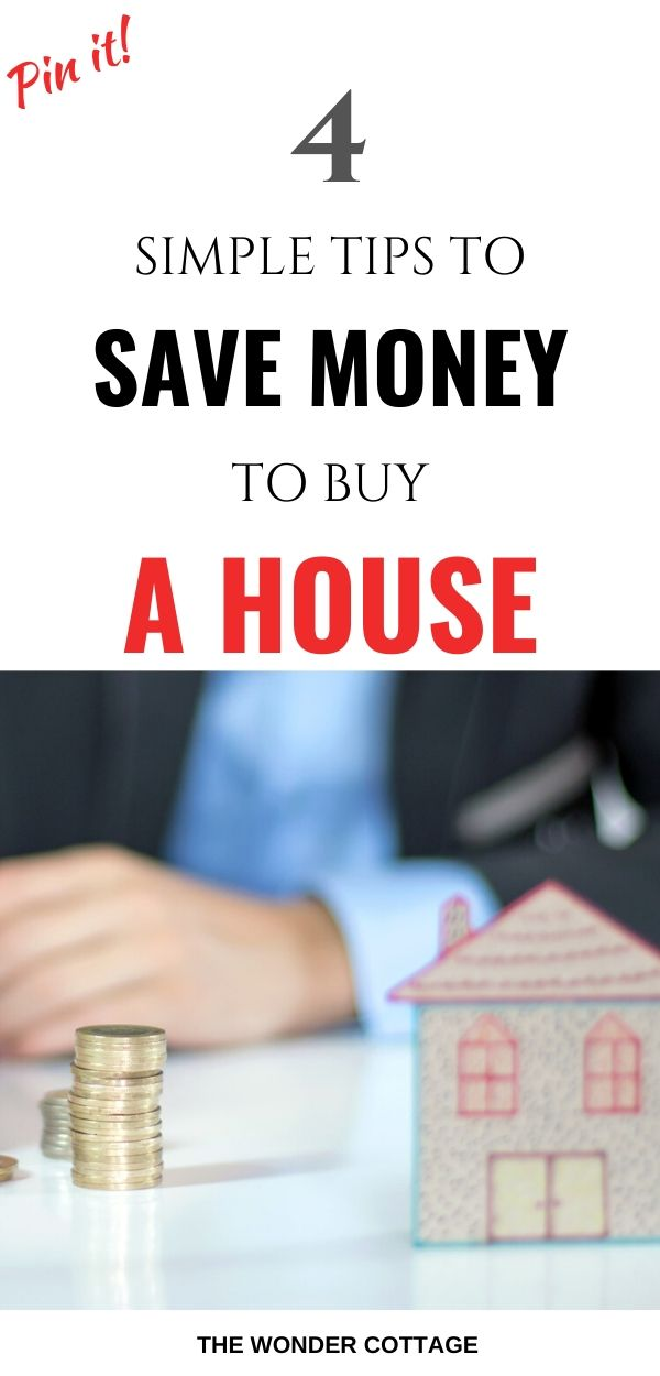 how to save money for a home