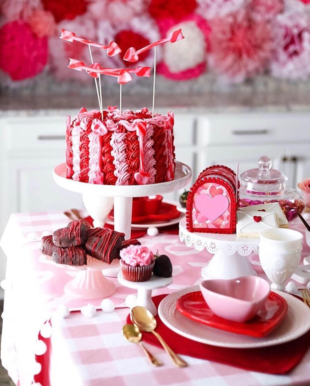 valentine's party decorations