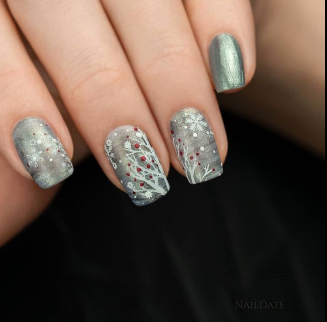 dark winter nails 2020