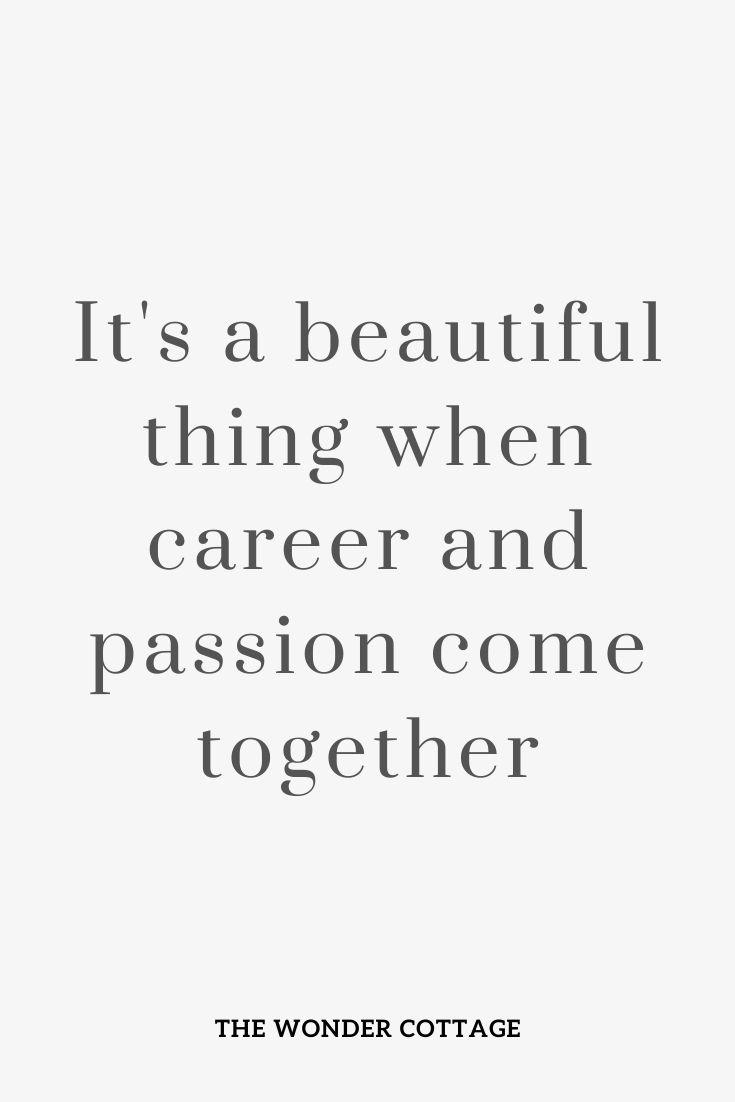 dream job quote