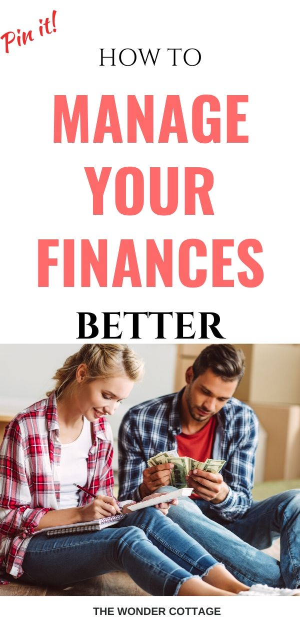 how to manage your finances better