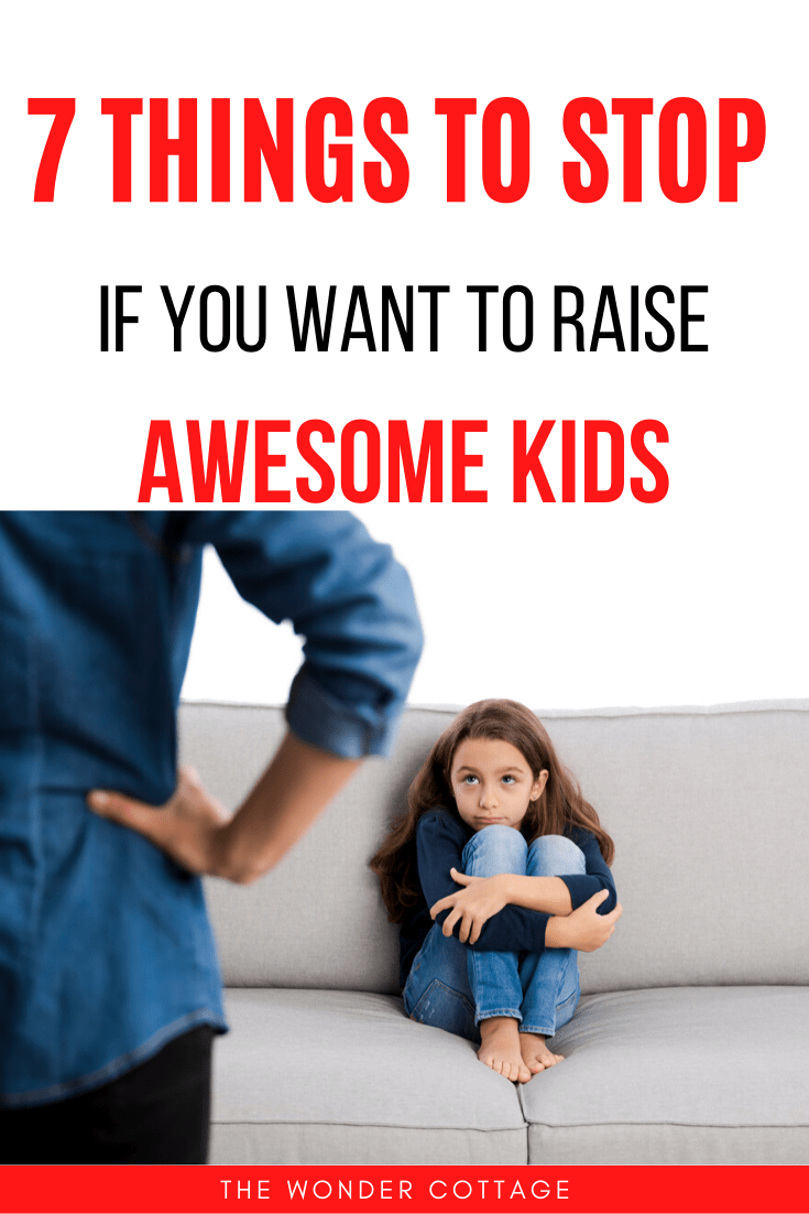 things you are doing wrong with your kids