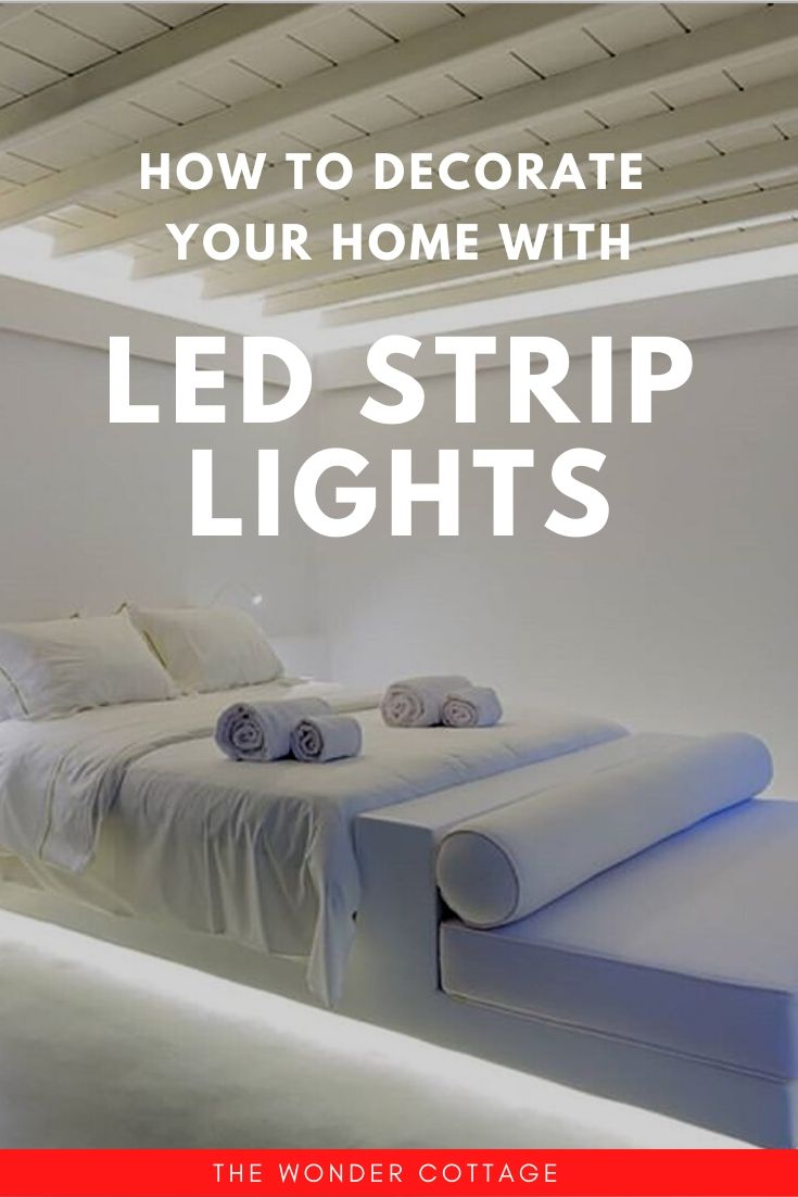 how to decorate with led strip lights