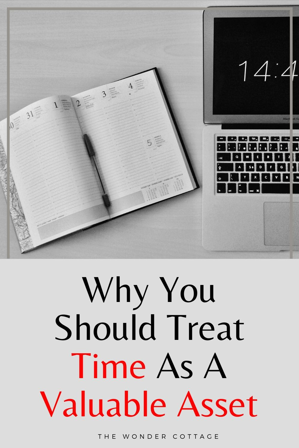 Why you should treat time as a valuable asset
