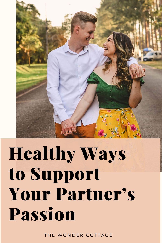 healthy  ways to support your partner's habit