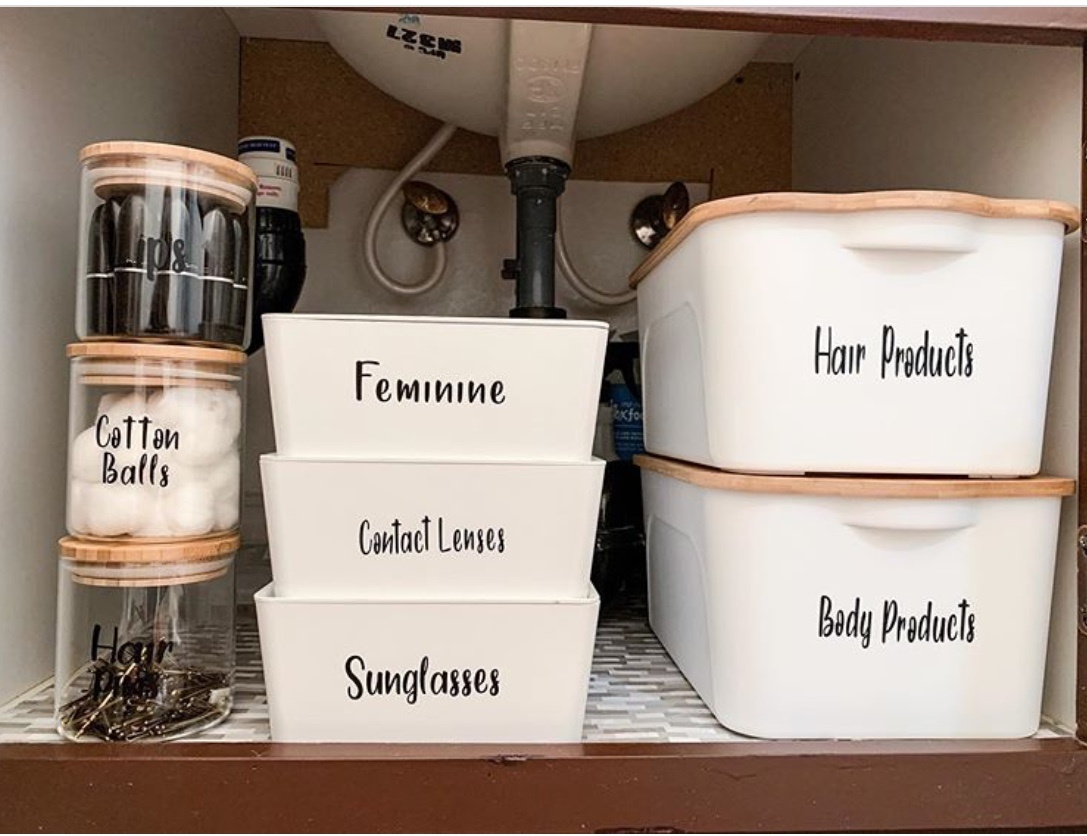 under sink storage ideas