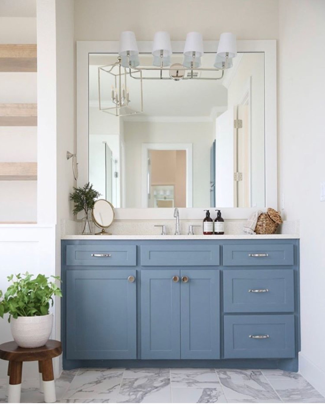 blue bathroom decor ideas