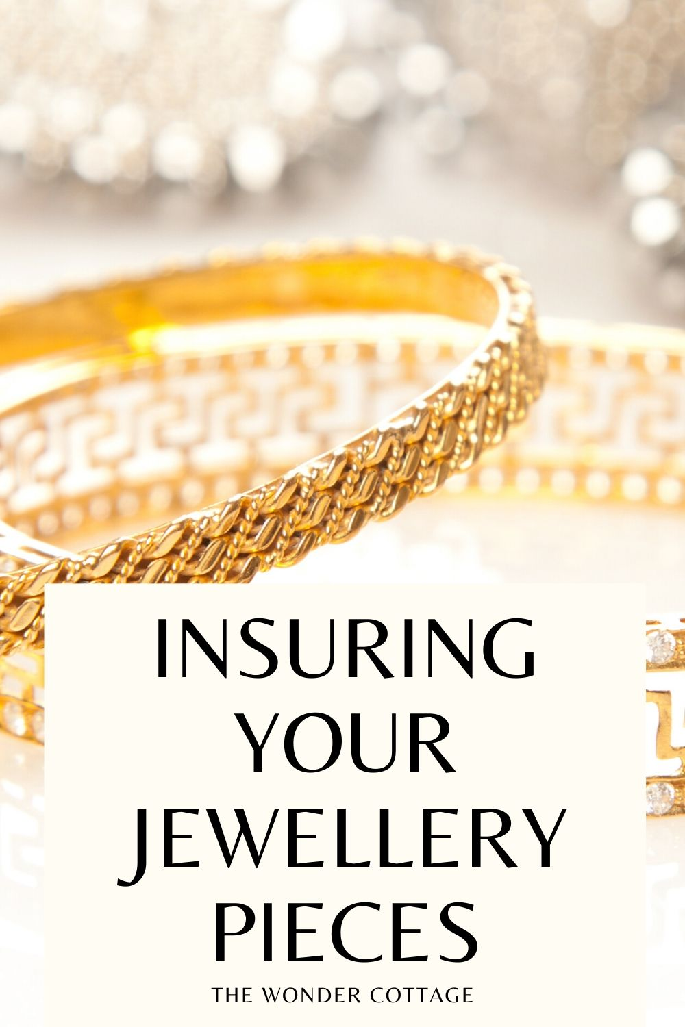 Insuring your jewellery pieces