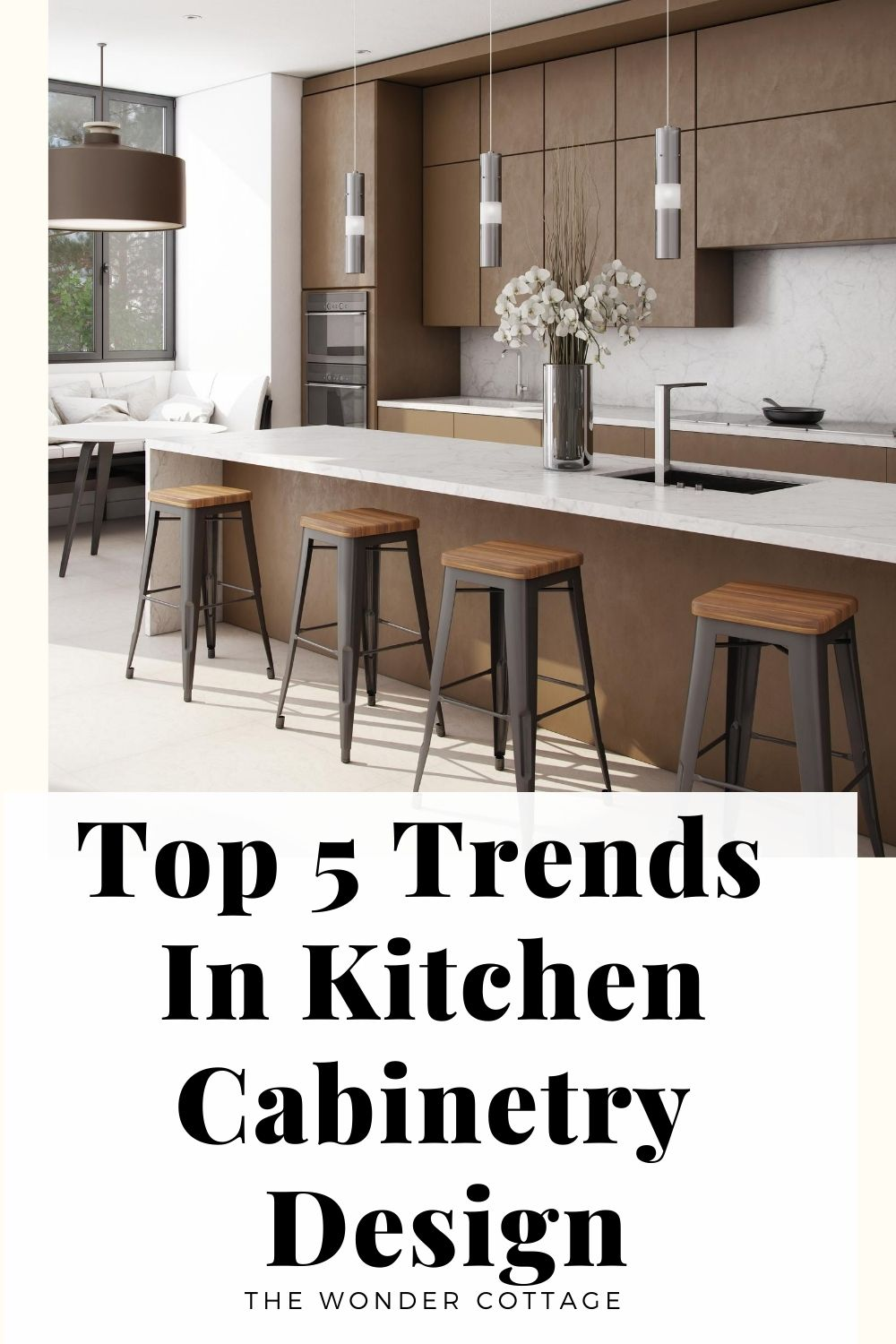 top 5 trends in kitchen cabinetry design