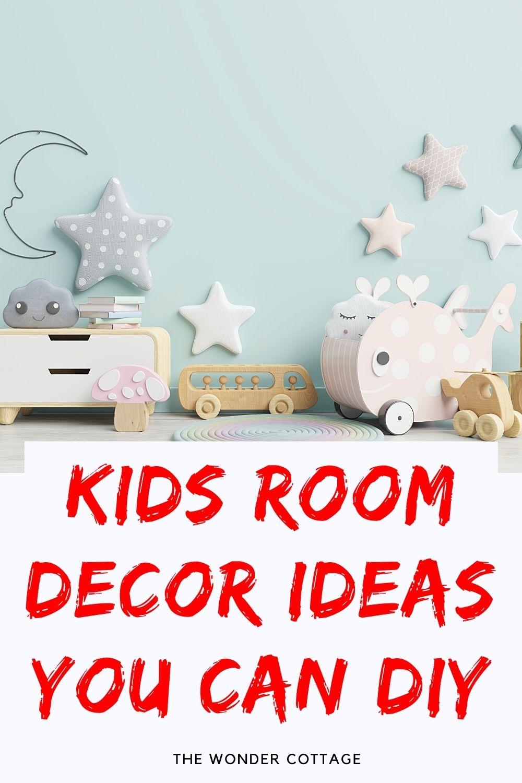 kids room decor ideas you can diy