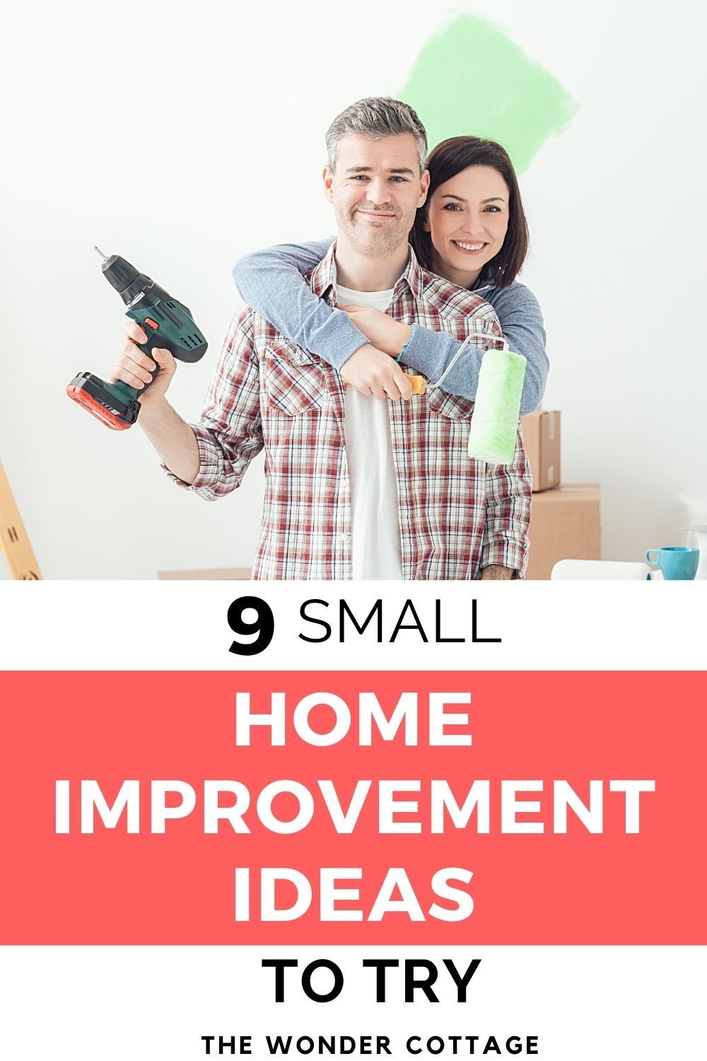 9 small home improvements to do