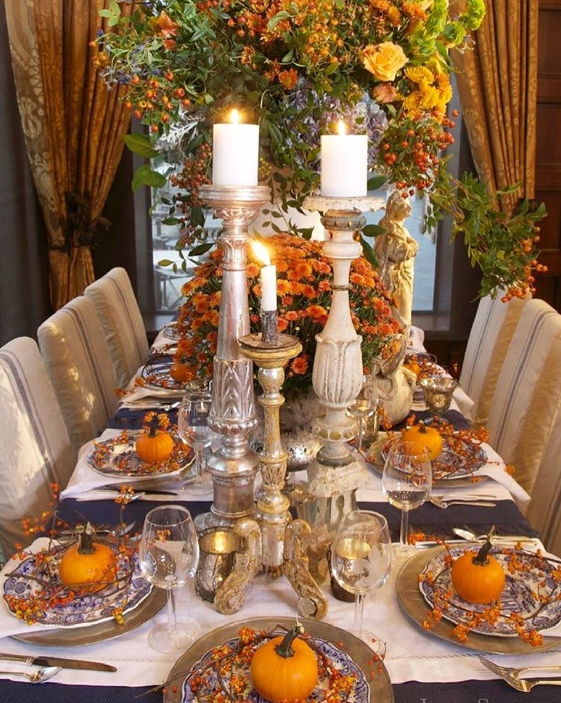 thanksgiving tablescape styling
