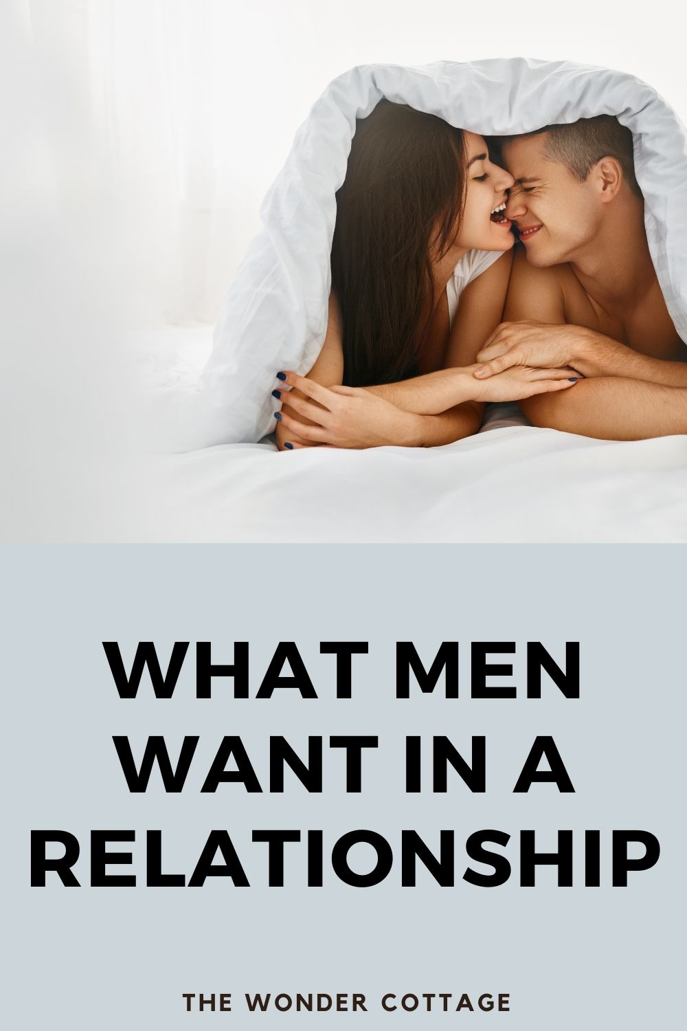 what men want in a relationship