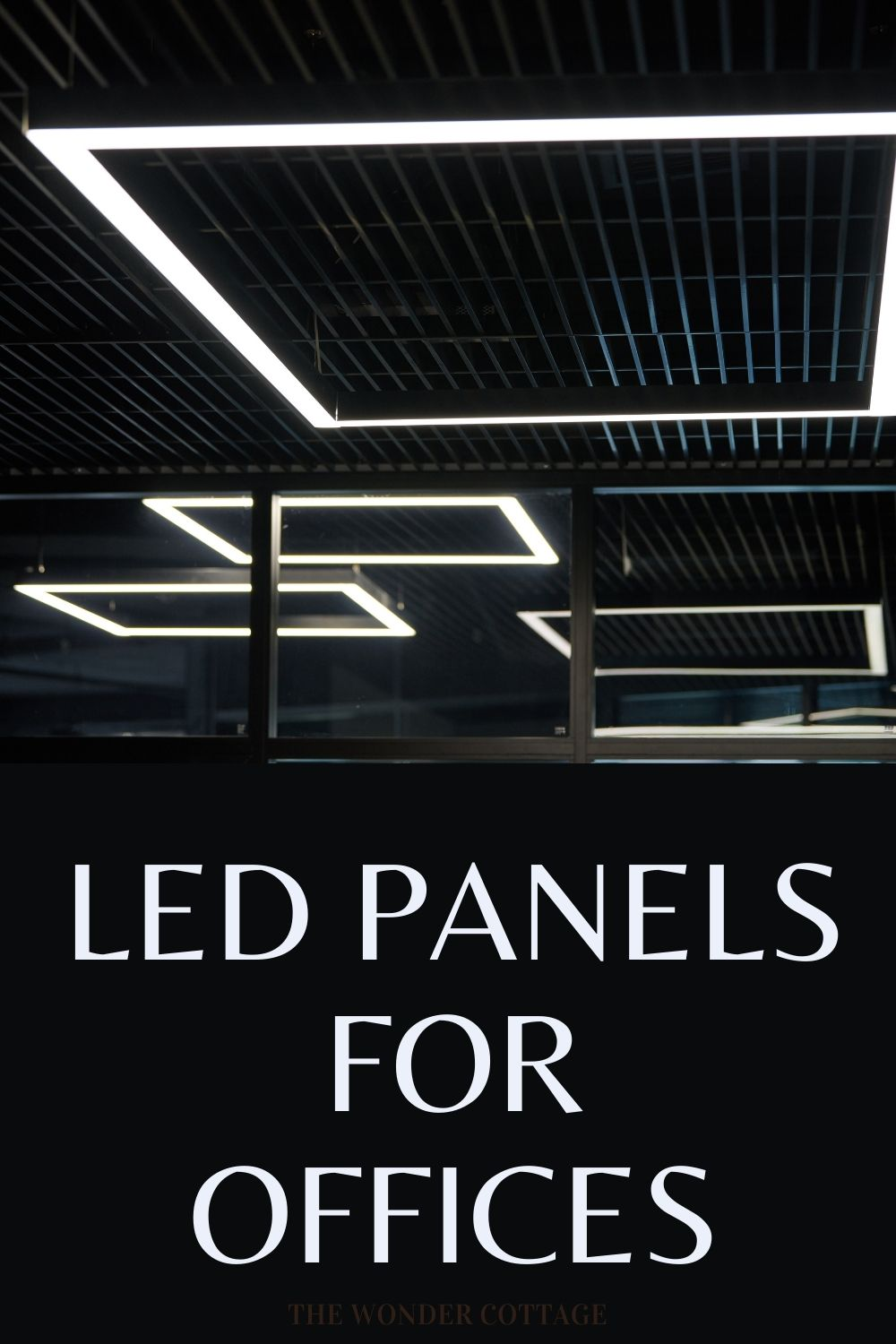 led panels for offices
