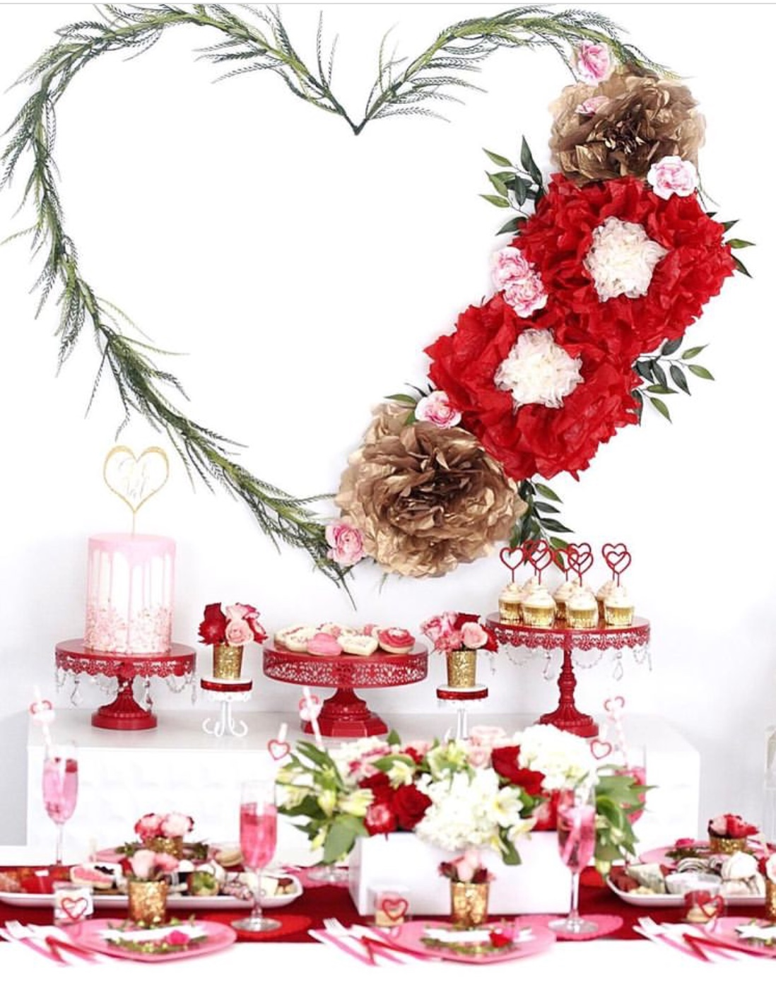 valentine's party decorations