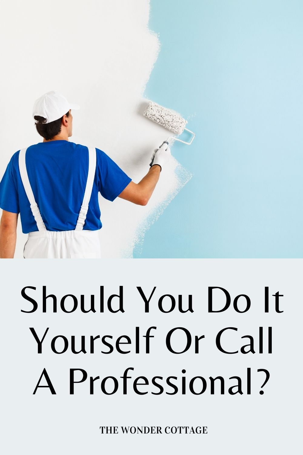 should you do it yourself or call a plumber
