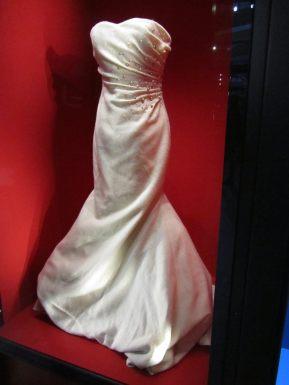 Harris tweed wedding dress