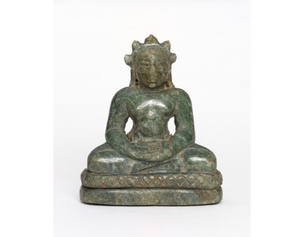 Parshvanatha image made from green stone