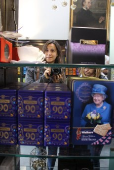 Celebrating the Queen's 90th, with tea and biscuits