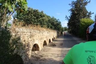 Biking along ancient Roman aqueducts
