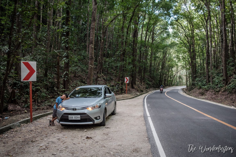 Our Rental Car in Bohol