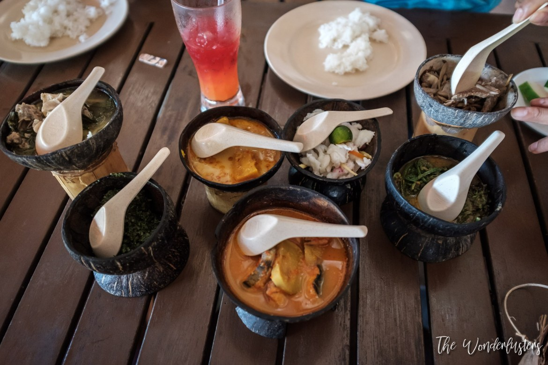 Sawawak Traditional Meal