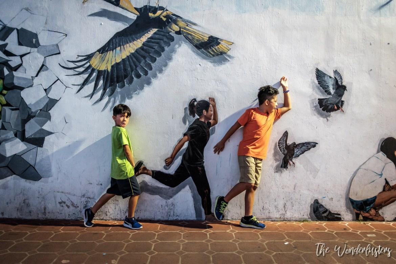 Street Art in Kuching