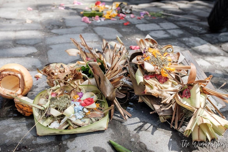 Street Offerings in Bali