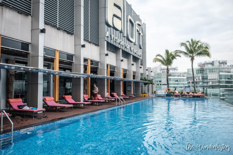 Swimming Pool at Aloft Kuala Lumpur Sentral