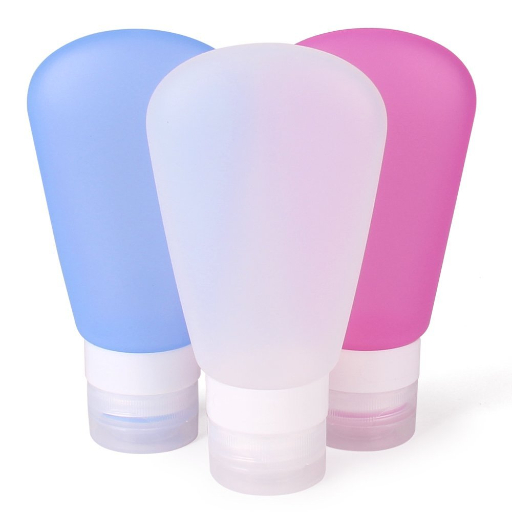 Refillable Silicone Bottles
