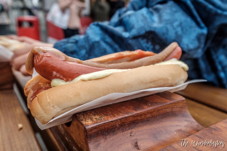 The famous Reykjavik Hot Dog