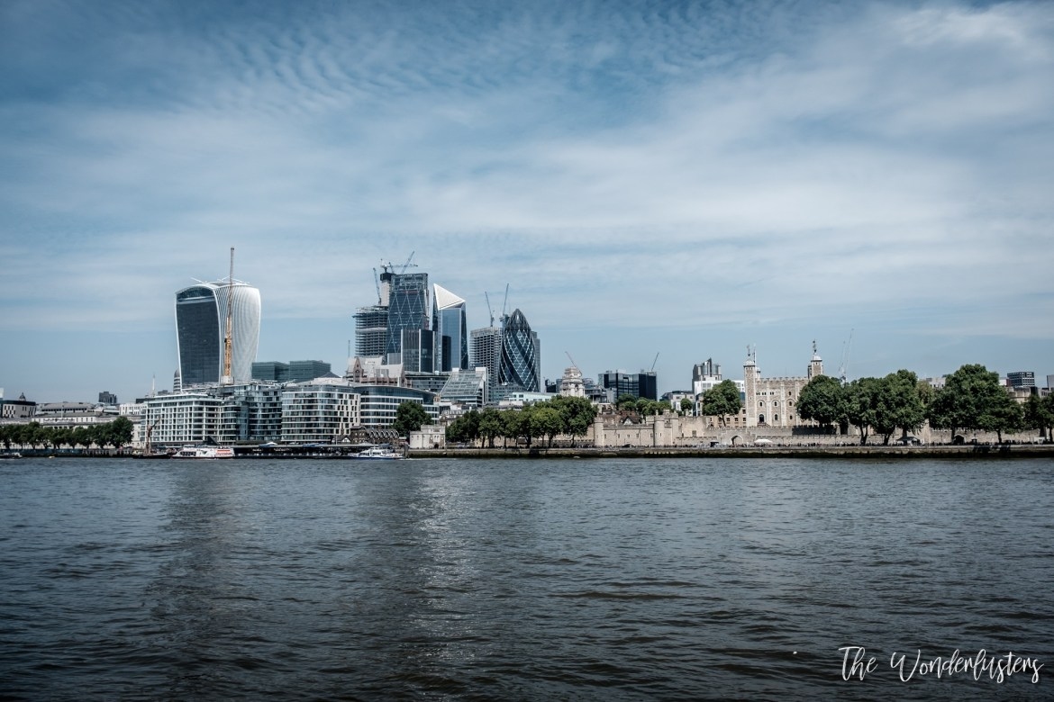 Tower of London and the City