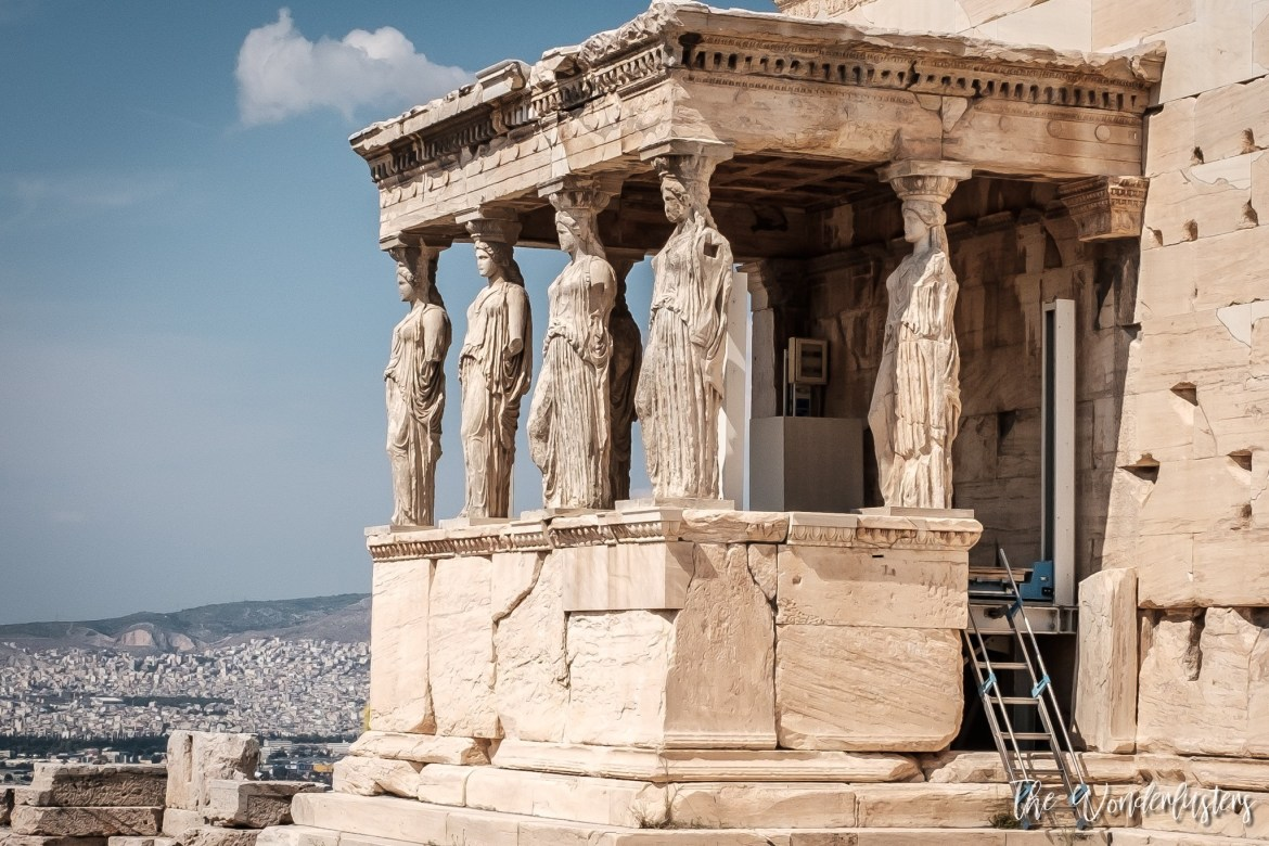 Athens - the Caryatid Statues