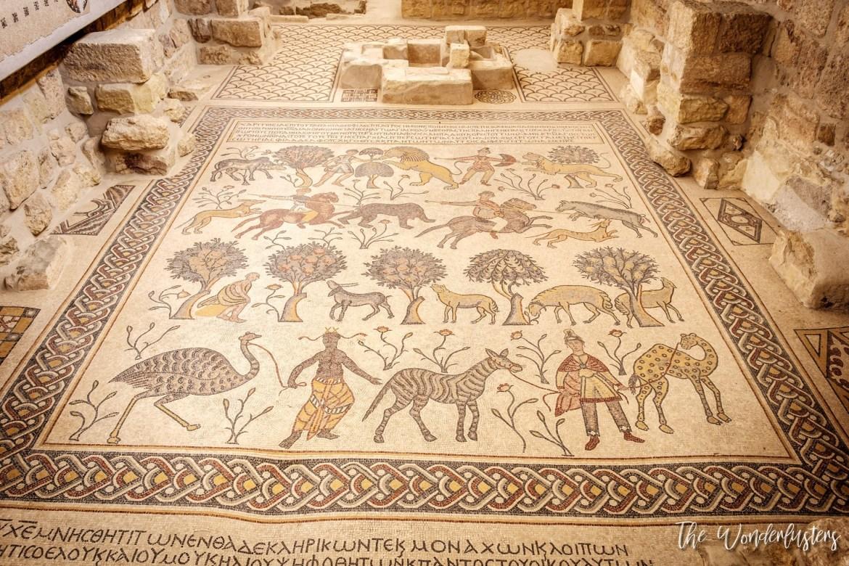 Mosaic on Mount Nebo