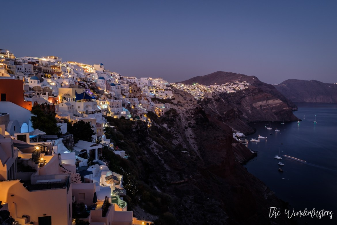 View from Oia Castle